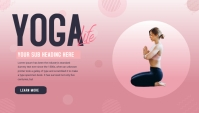 Blog header for yoga template