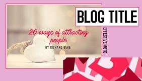 Blog Ideas Header template
