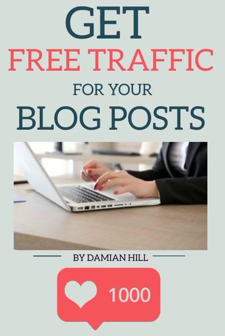 BLOG POST TIPS AND ADVICE TEMPLATE Gráfico de Pinterest