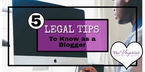bloggers legal tips
