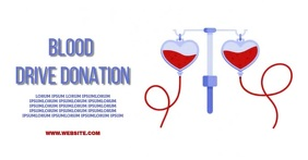 BLOOD AD facebook share TEMPLATE Obraz udostępniany na Facebooku