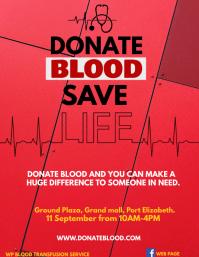 BLOOD DONATION Iflaya (Incwadi ye-US) template
