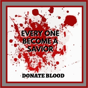 BLOOD DONATION FLYER