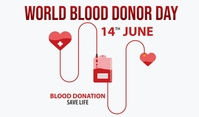 Blood Donor Day Tag template