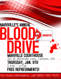 Blood Drive Flyer Template