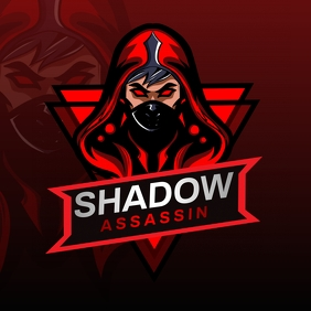 Blood Red Esports Gaming Logo