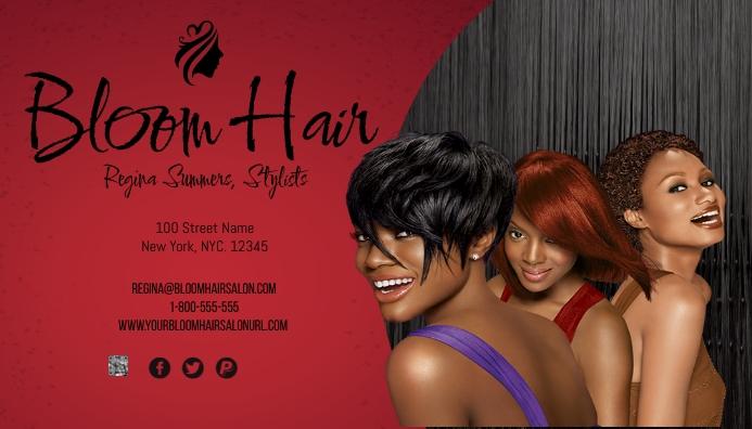 Bloom Hair Business Card