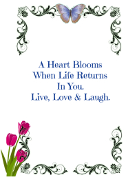 Blooming Self Inspirational Poster