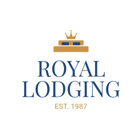 Blue and Gold Royal Logo