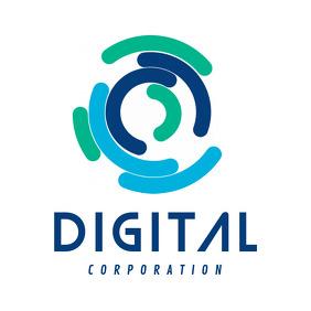 Blue and Green Digital Corporation Logo