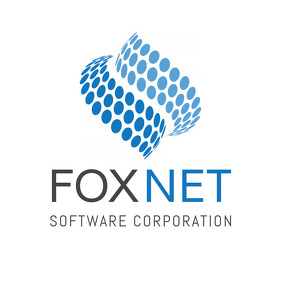 Blue and Grey Corporate Logo