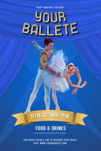 Blue Ballet Poster