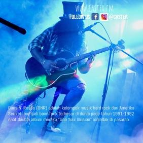 Blue Band insta Concert Flyer