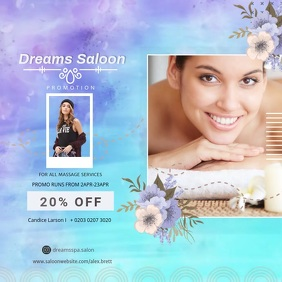 Blue Beauty Salon and Spa Square video