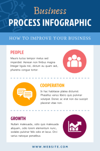 Blue Blog Pinterest Infographic