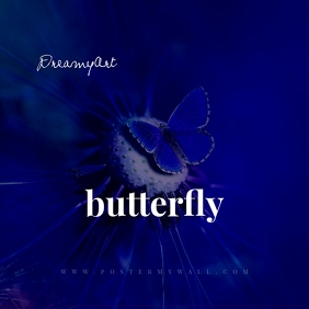 Blue Butterfly CD Cover Art