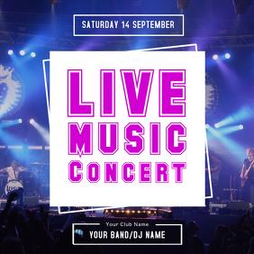 Blue Concert Template