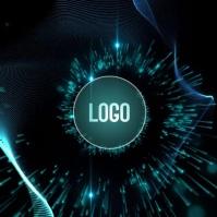 BLUE CORPORATE LOGO DESIGN TEMPLATE Logótipo