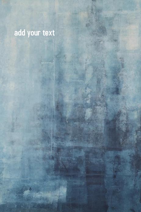 Blue Plakkaat template