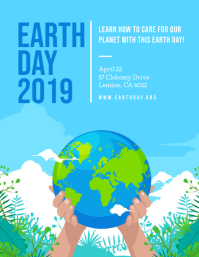 Blue Earth Day 2019 Flyer