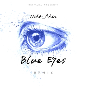 Blue Eye Watercolor CD Cover Art Template
