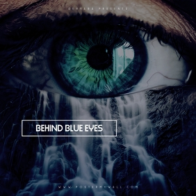 Blue Eyes Waterfall The Mixtape CD Cover