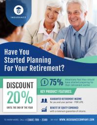 Blue Family Insurance Flyer Pamflet (VSA Brief) template