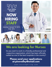Blue Hiring Now Health Care Professionals Fly