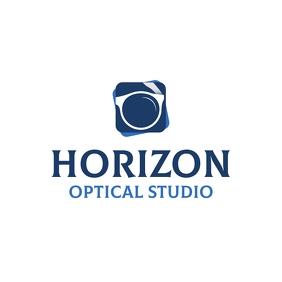 Blue Horizon Sunglasses Logo template