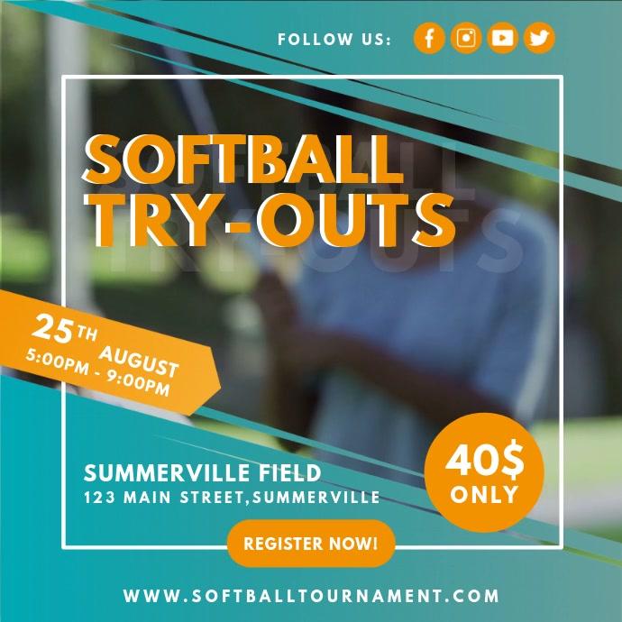 Blue Ladies Softball Tryouts Video