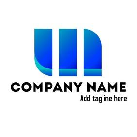 Blue m company logo
