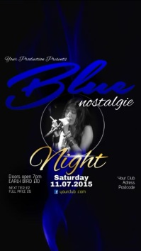 Blue Nostalgie Night Video Post