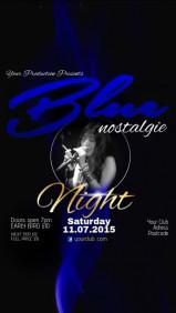 Blue Nostalgie Night Video Post