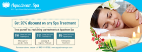 Blue Spa Salon Banner