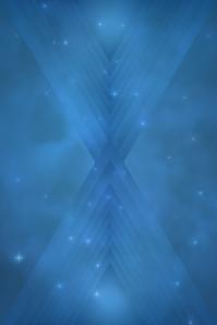 Blue Triangle Pattern 2 Plakat template