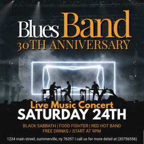 Blues Live Music Concert Video Ad