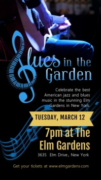 Blues Local Event Video Advert Design