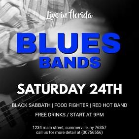 Blues Rock Concert Online Video Advert