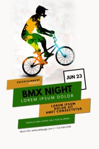 BMX Bike Contest Flyer Template
