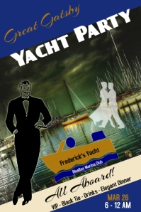 boat party/great gatsby/yacht party/marina