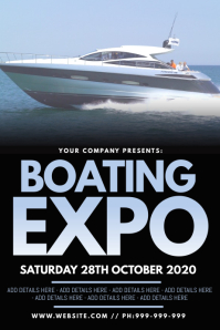 Boating Expo Poster