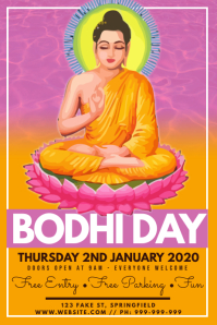 Bodhi Day Poster