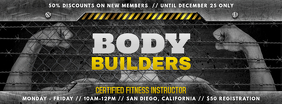 Body Building Gym Facebook Cover