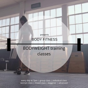 BODYWEIGHT training classes