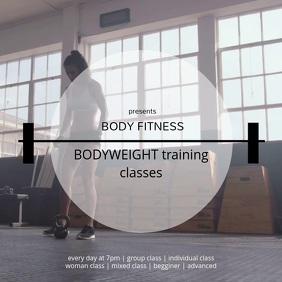 BODYWEIGHT training classes