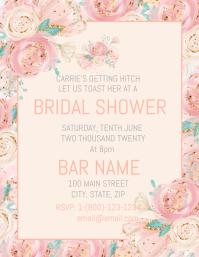 Boho Floral Bridal Shower