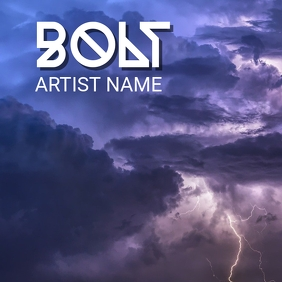 Bolt Cover ng Album template