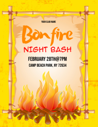 Bonfire Flyer