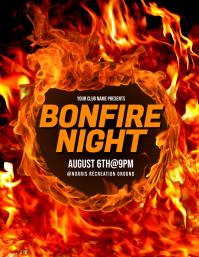 Bonfire Night Flyer
