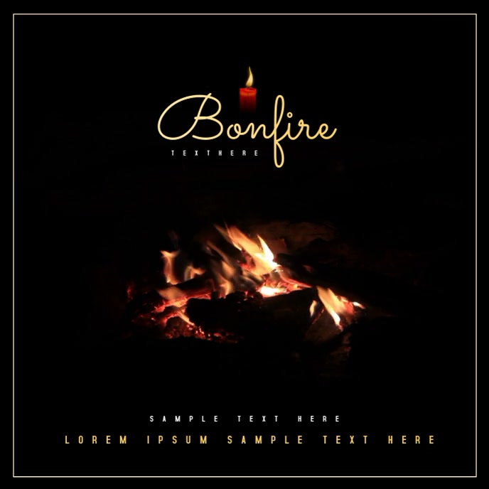 Bonfire Video Template